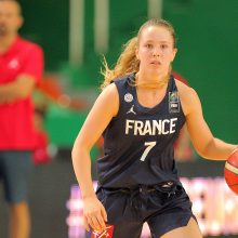 Jaunosios Lietuvos krepšininkės pralaimėjo Prancūzijos rinktinei
