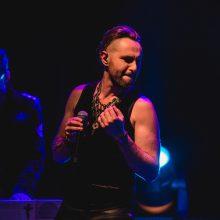 """Naują albumą pristačiusi grupė """"Royce"""" padovanojo įspūdingą roko spektaklį"""
