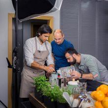 Italų šefas Gian Luca siūlo desertinę kiaulienos sprandinę