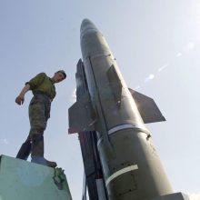 """Rusija Sirijoje naudojo raketas """"Iskander"""""""