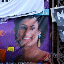Dėl Rio de Žaneiro miesto tarybos narės nužudymo areštuoti du policininkai