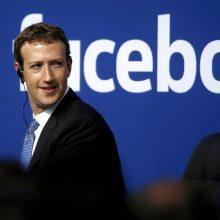 """""""Facebook"""" patvirtino, kad renka duomenis ne tik apie savo tinklo naudotojus"""