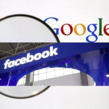 Vašingtono valstija dėl politinių reklamų kelia bylas interneto milžinėms