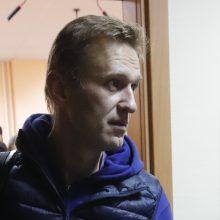 A. Navalnui skirta dar 20 parų arešto