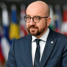 Belgijos premjeras paskelbė atsistatydinantis
