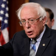 Senatorius B. Sandersas kandidatuos į JAV prezidentus