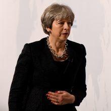 """Th. May: nė viena """"Brexit"""" pusė negaus būtent to, ko nori"""