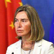 F. Mogherini: ES dėl prekybos su niekuo nekariauja