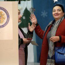 Pirmieji oficialūs rinkimų Armėnijoje rezultatai rodo N. Pašiniano bloko pergalę