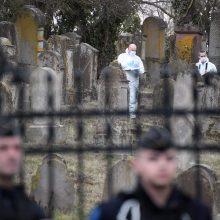 Rytų Prancūzijoje žydų kapinėse vandalai išniekino 80 kapų