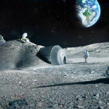 Kosmoso tyrimų konferencijoje – nuolatinės Mėnulio bazės idėja