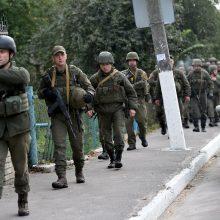 """Kryme Rusija sulaikė du įtariamus Ukrainos """"šnipus"""""""