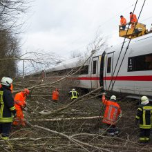 Draudikai įvertino audros Vokietijoje ir Olandijoje padarytą žalą
