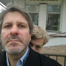 Aktorius A. Bialobžeskis pasipiršo savo mylimajai