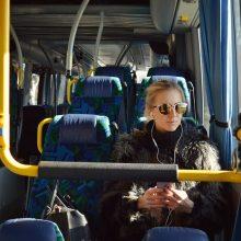 Autobusų keleiviams saugumas dar mažai rūpi