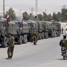 Įtampa dėl Sirijos neslūgsta: Didžioji Britanija ragina imtis priemonių