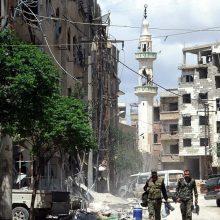 Sirija ruošiasi JAV kariniam smūgiui