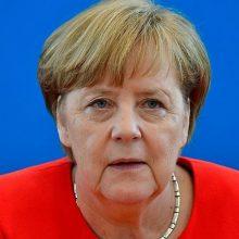 Vokietijos kanclerė A. Merkel ateinančią savaitę aplankys Izraelį