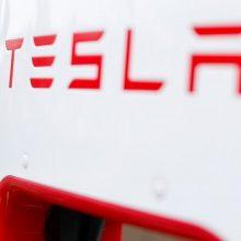 """E. Muskas: nauja """"Teslos"""" programinė įranga suteiks visišką savarankiškumą"""