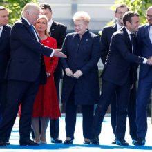 """""""The Economist"""": Baltijos šalių problema – D. Trumpo abejingumas NATO sąjungininkams"""