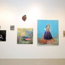 Dviejų menininkų parodoje – žmonės ir padarai