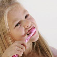 Startuoja vaikų burnos higieną propaguojantis projektas