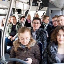 Kas ketvirtas žmogus viešajame transporte susiteršia fekalijų bakterijomis