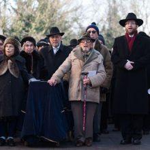 Pirmos tokios laidotuvės D. Britanijoje: palaidotos šešios Holokausto aukos