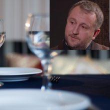 L. Čeprackas argumentavo, kodėl už stalo vandenį reikia susimokėti