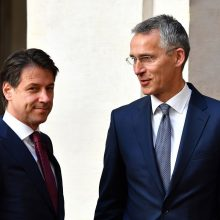 NATO ir Italija: požiūris į Rusiją turi būti grindžiamas gynyba ir dialogu