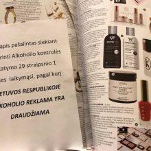 Alkoholio reklamą internete ir žurnaluose keitė visureigiai, čiužiniai ir vaistai