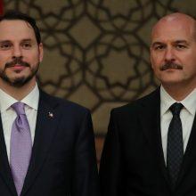 R. T. Erdoganas paskyrė savo žentą finansų ministru naujajame Turkijos kabinete