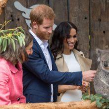Australijoje viešintys princas Harry ir besilaukianti Meghan atsidūrė dėmesio centre