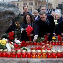 Europos Sąjungos šalių diplomatai Maskvoje pagerbė sovietų teroro aukas