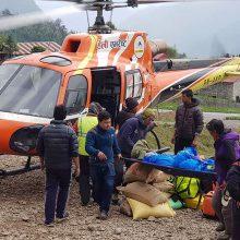 Vienapirštis alpinistas žuvo aštuntą kartą bandydamas įkopti į Everestą