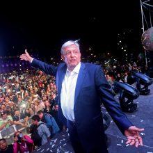 Naujasis Meksikos prezidentas siūlo D. Trumpui sandorį dėl migracijos