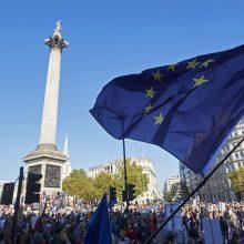 """ES ministrai atsargiai žiūri į galimybę greitai pasiekti susitarimą dėl """"Brexit"""""""