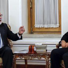 Irano diplomatijos vadovas: ES dėl branduolinio susitarimo deda per mažai pastangų