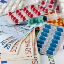 """Mažėja kainos: įvestos priemokų """"lubos"""" kompensuojamiesiems vaistams"""