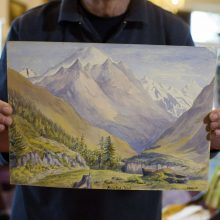 Vokietijoje aukcione bus pardavinėjami Hitleriui priskiriami paveikslai