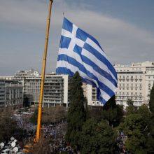 Pagalbos programos pabaigai besirengianti Graikija suderino galutinį reformų planą