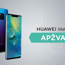 """Ar """"Huawei Mate 20 Pro"""" vertas vieno geriausių flagmanų titulo? <span style=color:red;>(apžvalga)</span>"""