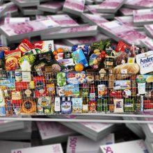 Labdarai ir paramai bus galima atiduoti dar daugiau maisto produktų