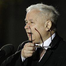 Valdančiosios partijos lyderis: Europos sąjunga nepalauš Lenkijos