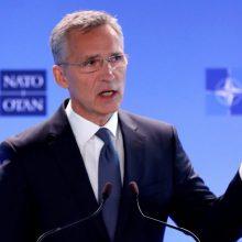 J. Stoltenbergas: NATO numato, kad pasaulyje gali atsirasti daugiau rusiškų raketų