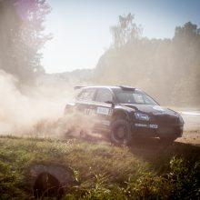 Kas po lemiamos kovos taps Lietuvos automobilių ralio čempionu?