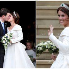 Princesės Eugenie vestuvės Didžiojoje Britanijoje: susirinko pasaulio garsenybės