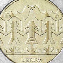 Lietuvos bankas išleis Dainų šventei skirtą monetą