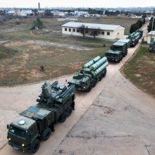 Ketvirtas bandymas: Rusija aneksuotame Kryme dislokuos daugiau raketų