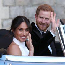 Oficialu: princo Harry žmona Meghan laukiasi pirmagimio